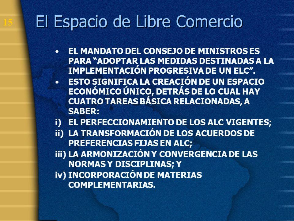 16 Normativa sobre OTC en los Acuerdos de Libre Comercio ACE 18Mercosur Adoptan el Acuerdo de Obstáculos Técnicos al Comercio de la OMC.