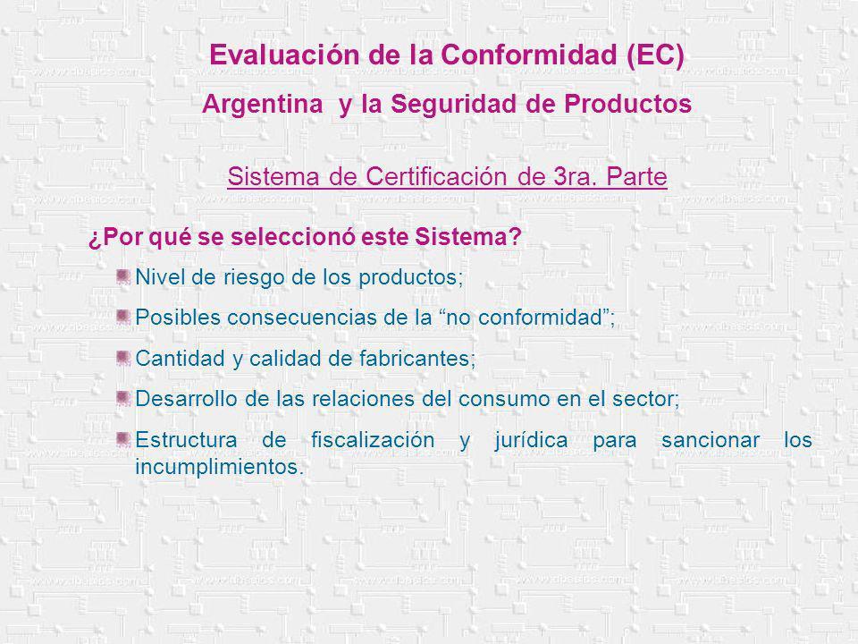 Nivel de riesgo de los productos; Posibles consecuencias de la no conformidad; Cantidad y calidad de fabricantes; Desarrollo de las relaciones del con