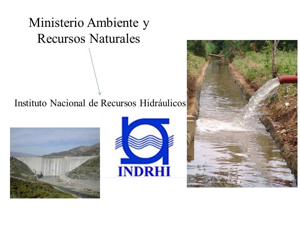 Ministerio Ambiente y Recursos Naturales Instituto Nacional de Recursos Hidráulicos