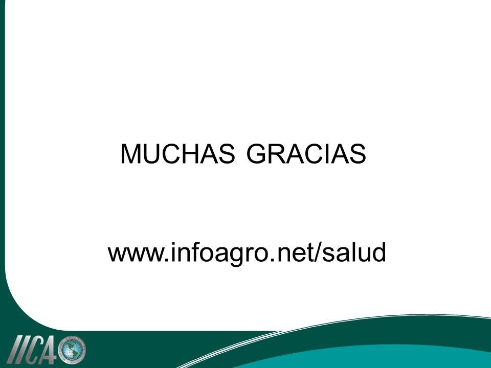 MUCHAS GRACIAS www.infoagro.net/salud