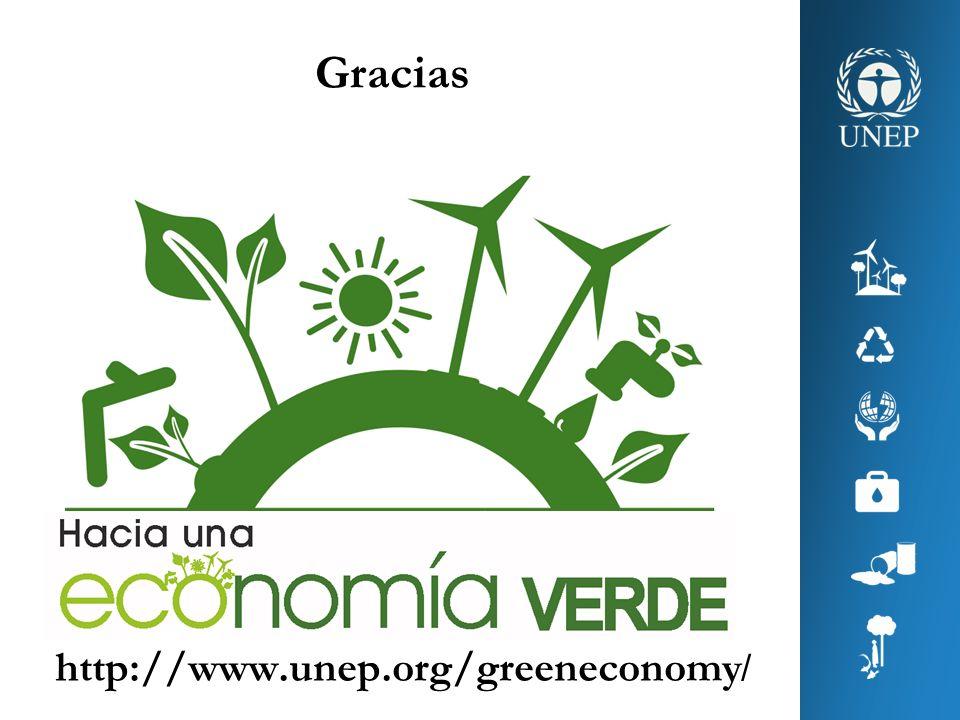 Gracias http://www.unep.org/greeneconomy /