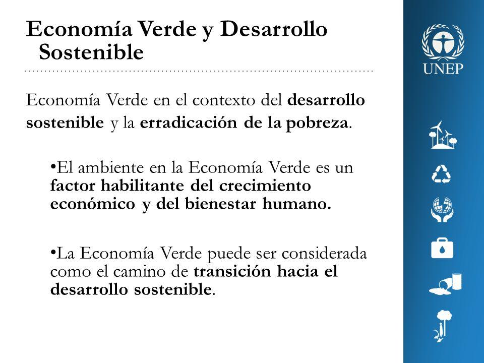 Economía Verde y Erradicación de la Pobreza Economía Verde en el contexto del desarrollo sostenible y la erradicación de la pobreza.