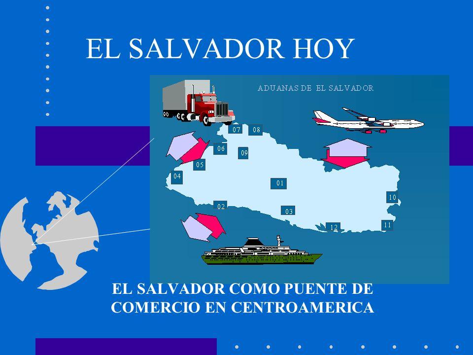 EL SALVADOR HOY EL SALVADOR COMO PUENTE DE COMERCIO EN CENTROAMERICA