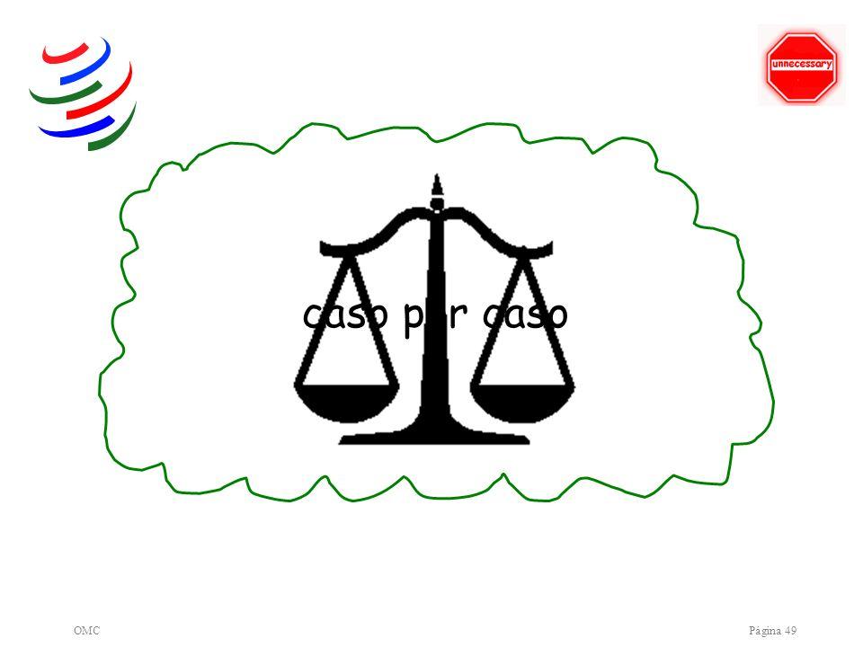 OMCPágina 49 caso por caso