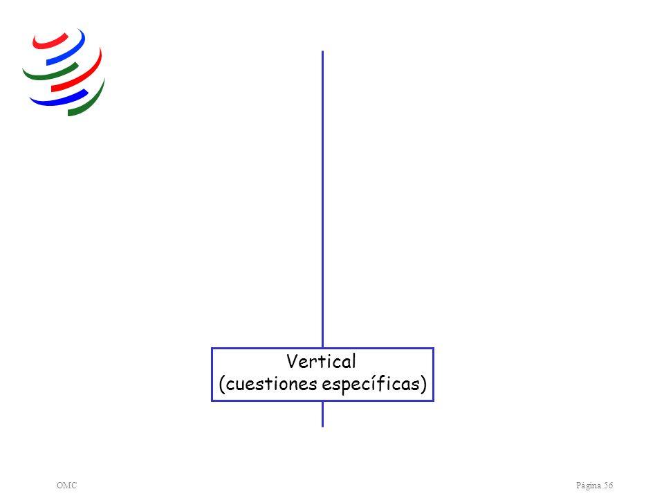 OMCPágina 56 Vertical (cuestiones específicas)