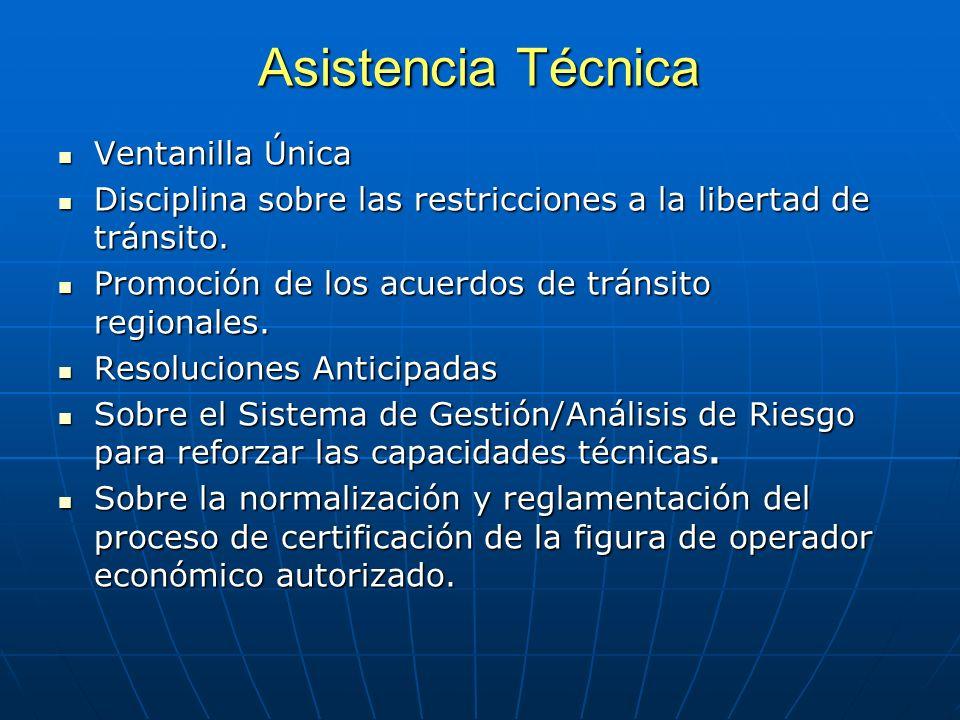 Asistencia Técnica Ventanilla Única Ventanilla Única Disciplina sobre las restricciones a la libertad de tránsito.