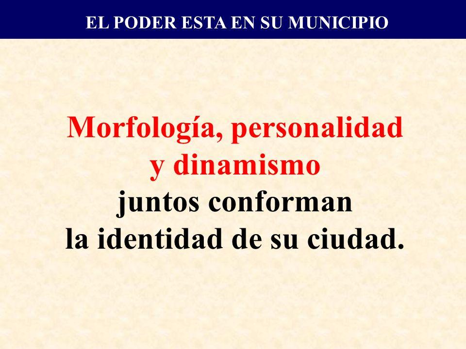 Morfología, personalidad y dinamismo juntos conforman la identidad de su ciudad.