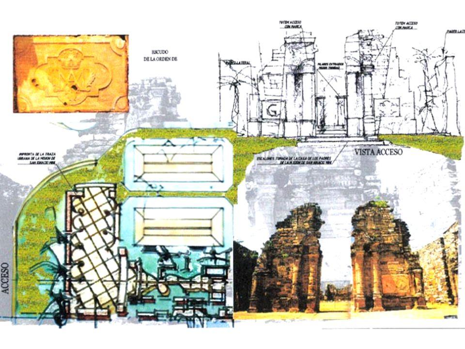 Diseño interior La impronta de las reducciones estará presente en el recorrido museográfico.