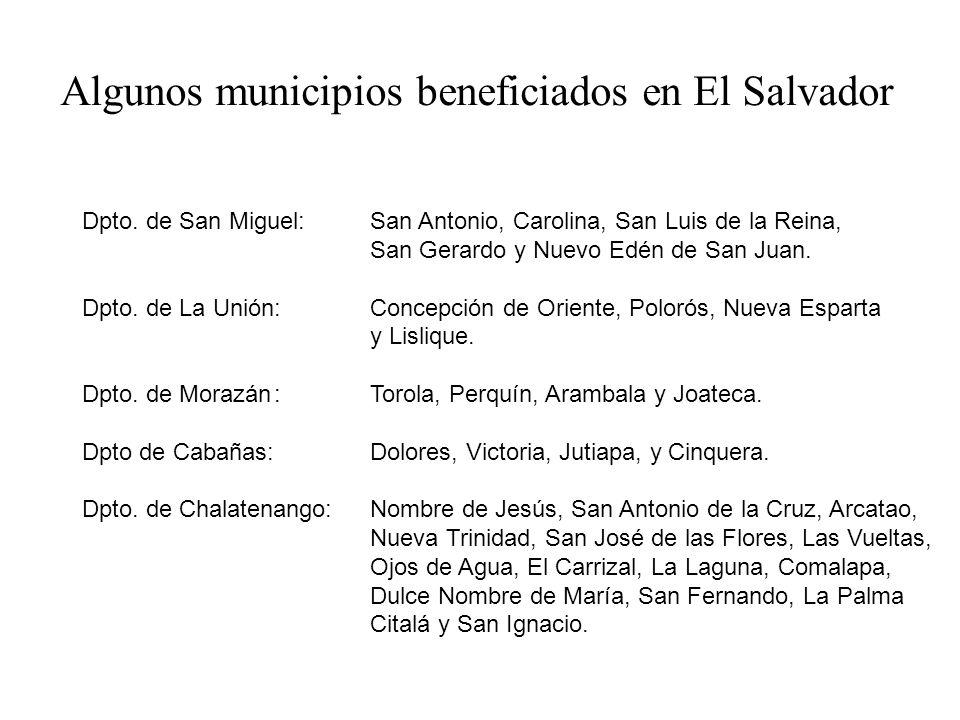 Dpto.de Ocotepeque: Ocotepeque, Santa Fe, Sinuapa y Mercedes.