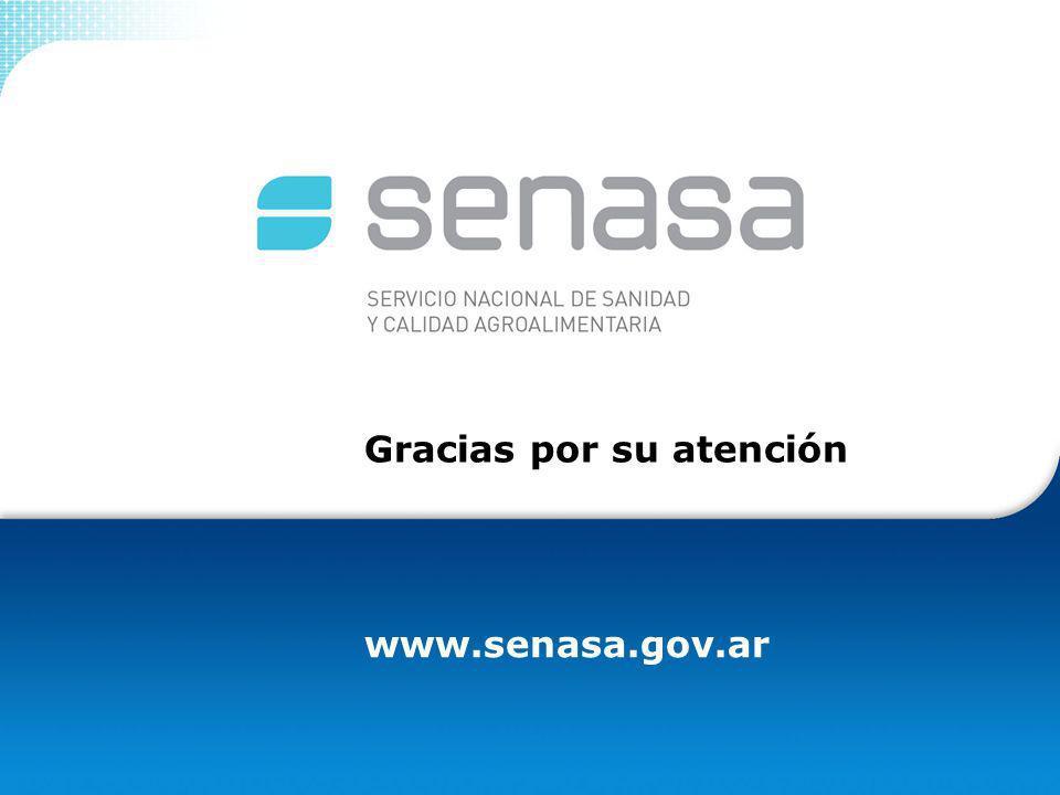 www.senasa.gov.ar Gracias por su atención
