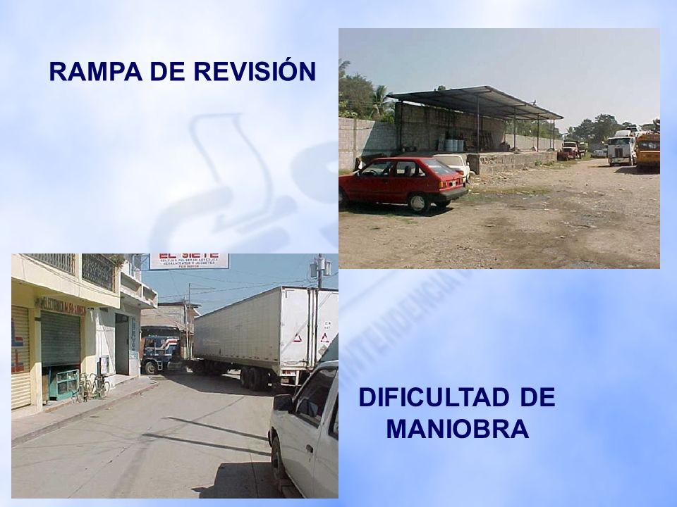 GARITAS DE CONTROL OFICINAS ADMINISTRATIVAS