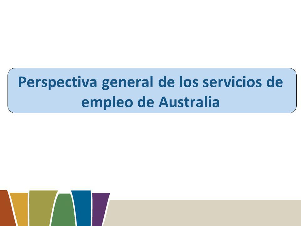 Perspectiva general de los servicios de empleo de Australia
