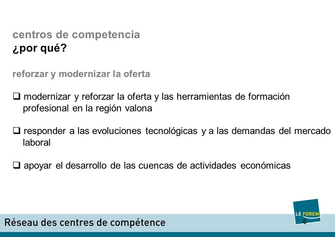 6 centros de competencia ¿por qué.