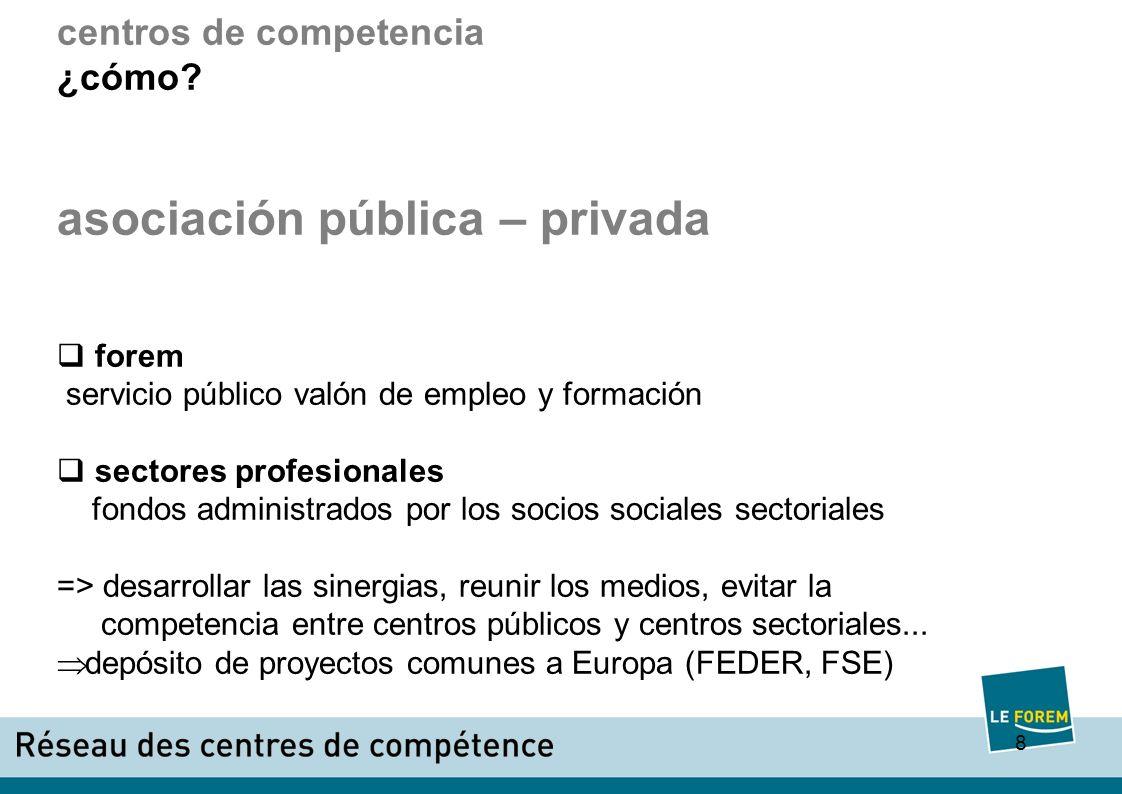 9 centros de competencia ¿cómo.