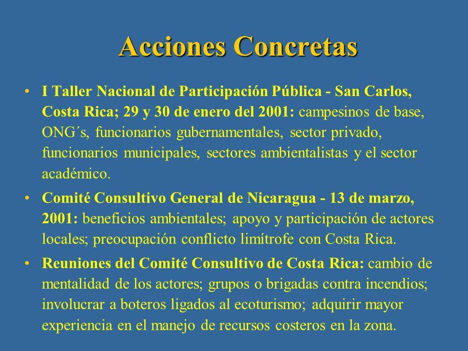 (…cont.) Educación ambiental en el municipio de San Carlos.
