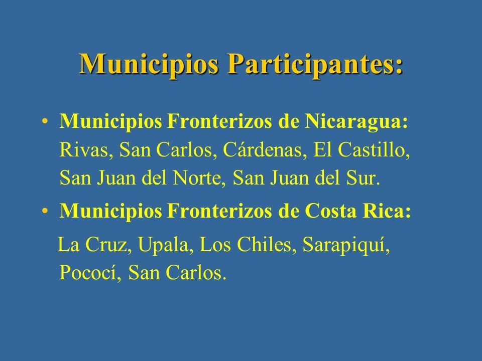 Implementación de la estrategia del Triángulo en los municipios fronterizos: Conformación de equipos con representantes comunales y municipales de ambos países y establecimiento de retos y desafíos.