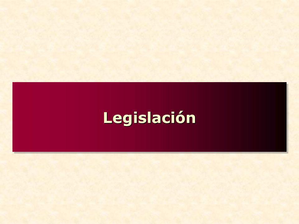 LegislaciónLegislación