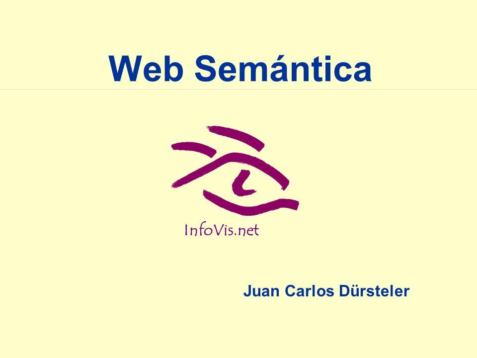 InfoVis.net Web Semántica Juan Carlos Dürsteler