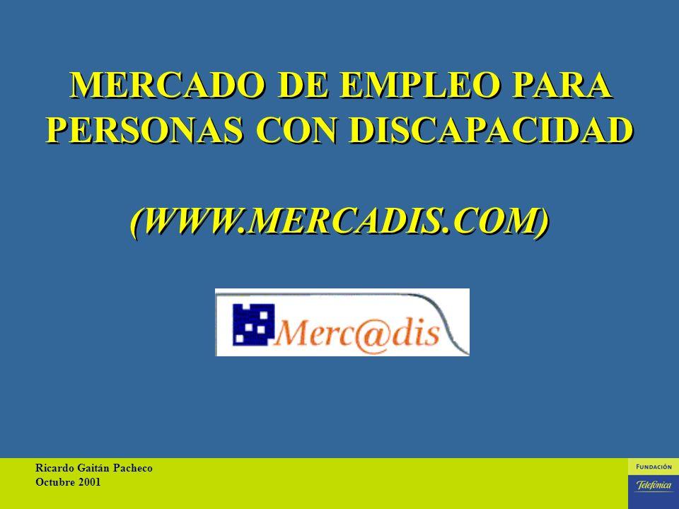 Ricardo Gaitán Pacheco Octubre 2001 20