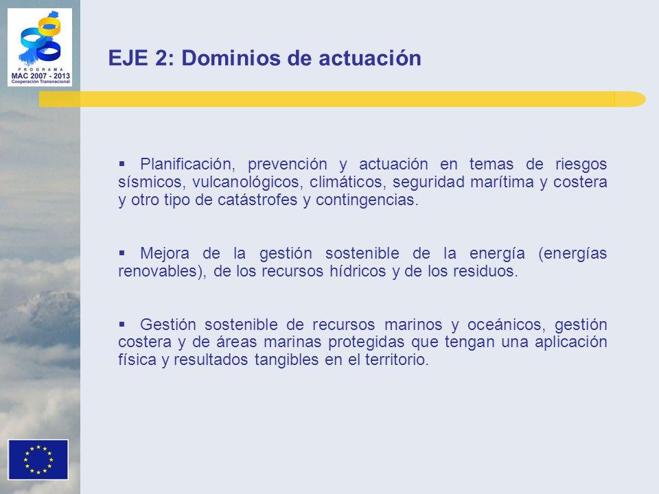 Planificación, prevención y actuación en temas de riesgos sísmicos, vulcanológicos, climáticos, seguridad marítima y costera y otro tipo de catástrofe