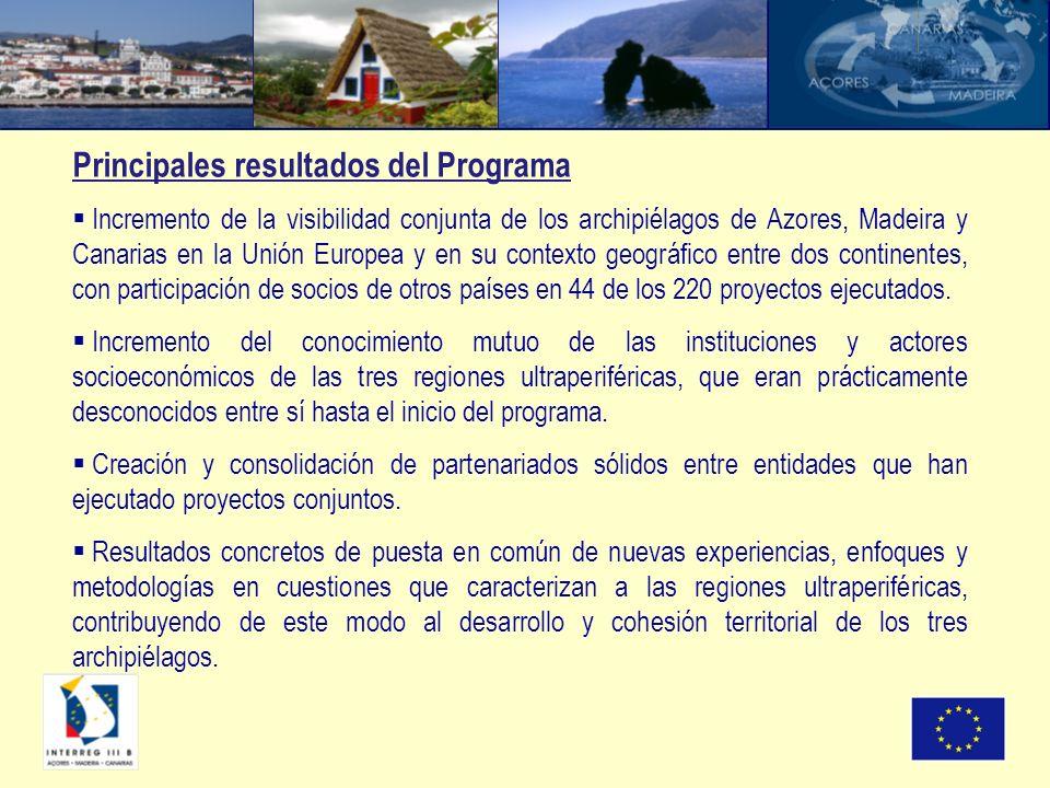 Incremento de la visibilidad conjunta de los archipiélagos de Azores, Madeira y Canarias en la Unión Europea y en su contexto geográfico entre dos con