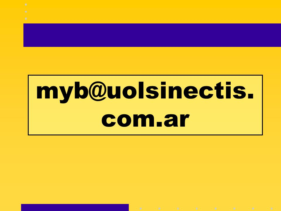 myb@uolsinectis. com.ar