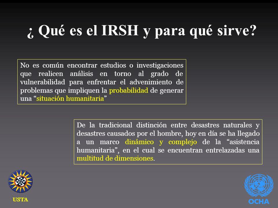 3. ¿Cómo se construyó el IRSH?
