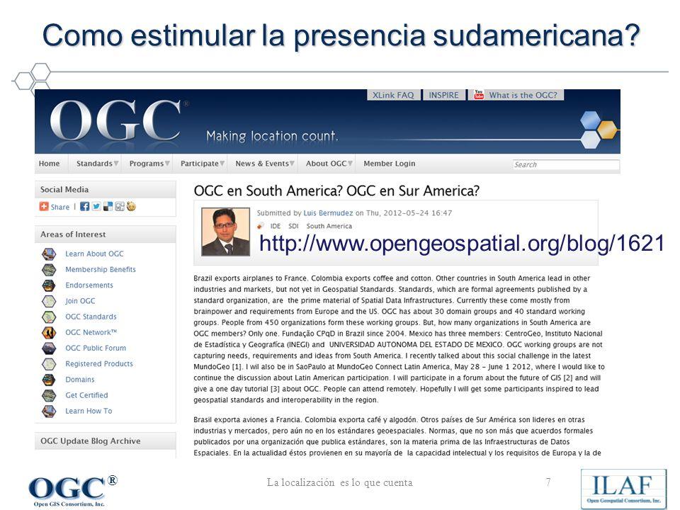 ® Como estimular la presencia sudamericana.
