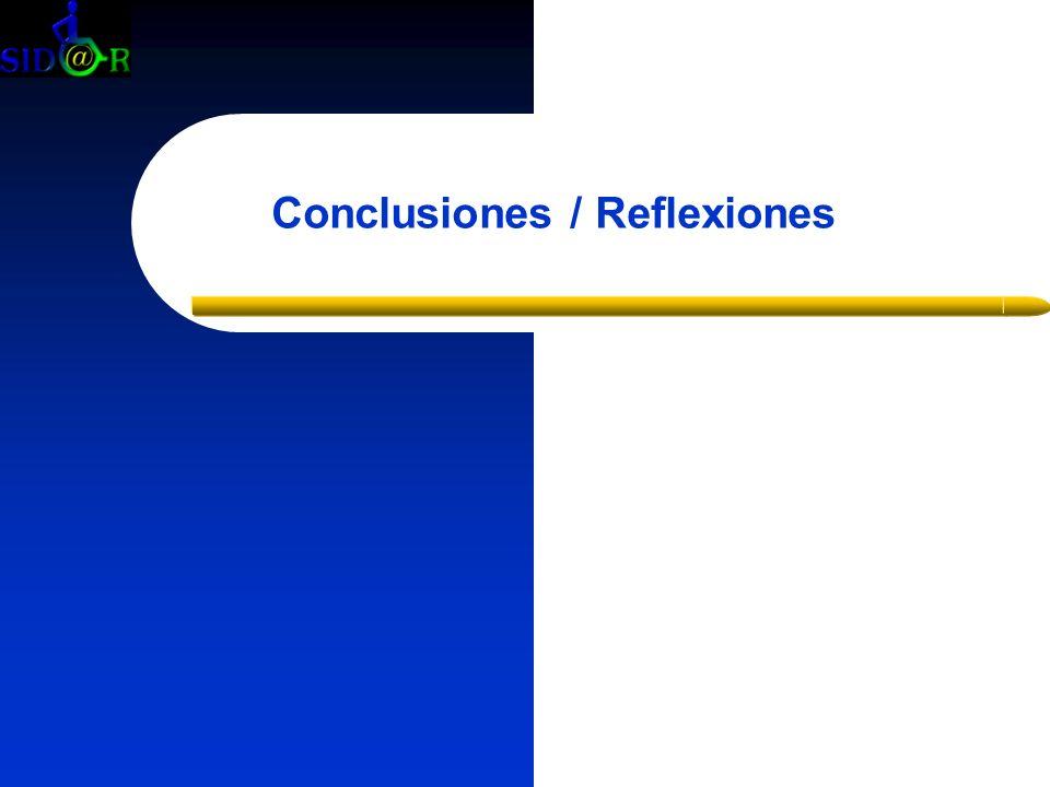 Conclusiones / Reflexiones