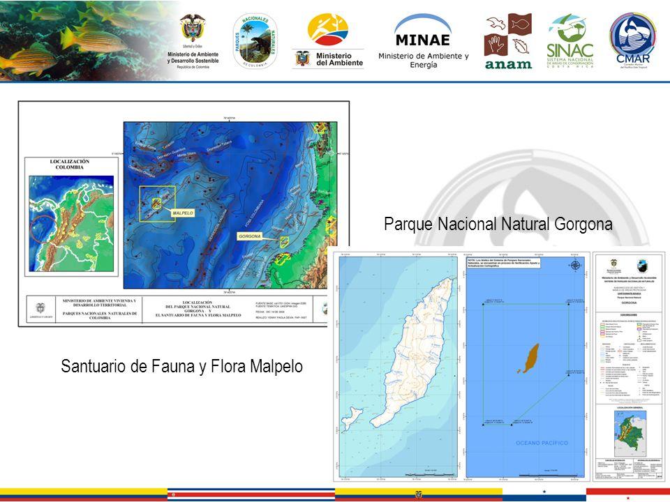 Santuario de Fauna y Flora Malpelo Parque Nacional Natural Gorgona