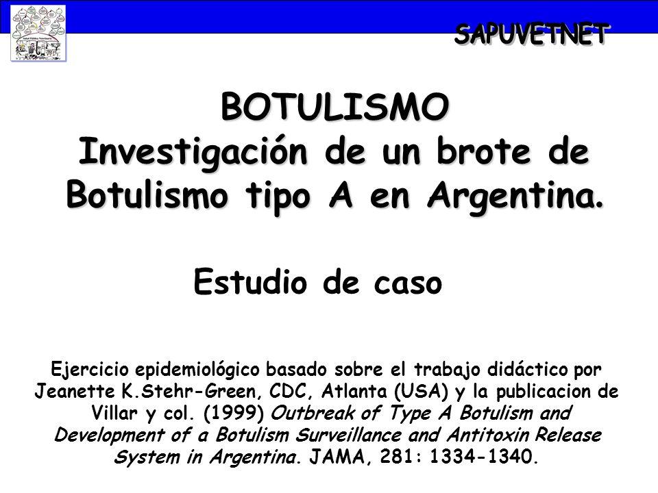 ¿Qué es el Botulismo.