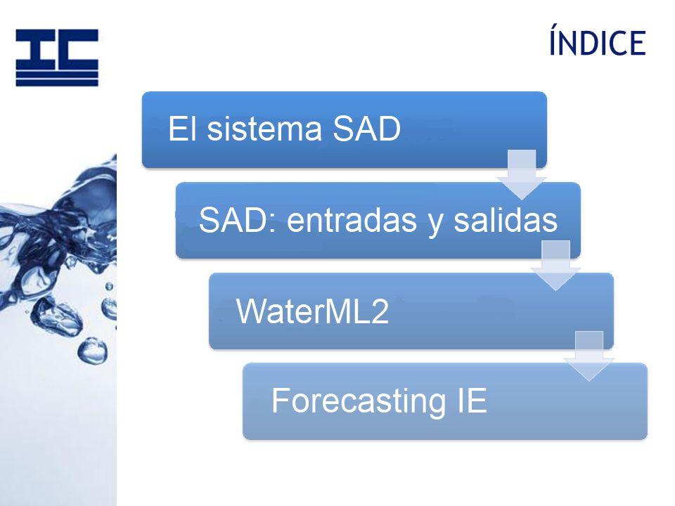 o Las Confederaciones Hidrográficas españolas disponen desde hace años del Sistema Automático de Información Hidrológica (SAIH).