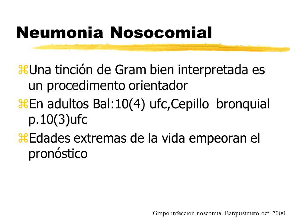 """La presentaci�n """"Neumon�a Nosocomial Consenso de expertos Isturiz ..."""