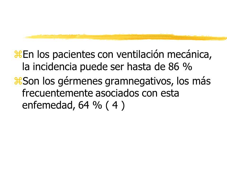 Diagnóstico clínico zSospecha clínica Fiebre Secreción traqueobronquial purulenta Leucocitosis zInfiltrados nuevos o empeoramiento Sensibilidad 50 - 78 % zBroncograma aéreo de los nuevos infiltrados Sensibilidad 58 - 83 %
