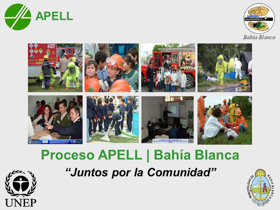 Proceso APELL | Bahía Blanca Juntos por la Comunidad APELL Bahía Blanca