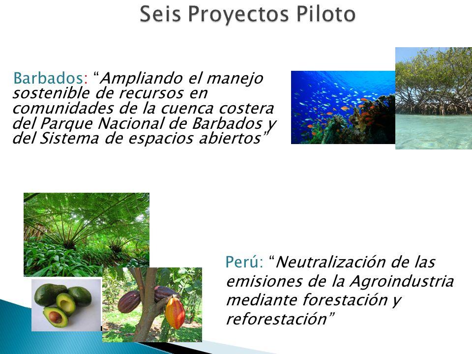 Colombia: Medición de Huella Hídrica de la trucha cultivada en La Truchera Vega del Túnel República Dominicana: Huella Hídrica del turismo en Playa Dorada, Puerto Plata, República Dominicana