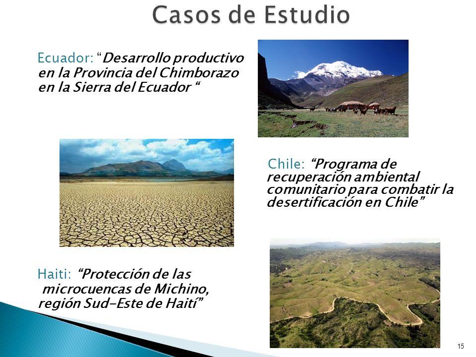 Construcción de infraestructura de riego y vial, acoplado al Proyecto Protección de la Biodiversidad, para reforestar con especies nativas las quebradas afectadas por erosión.