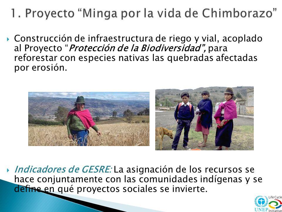 Restauración microcuencas deterioradas, a través de reforestación y utilización sostenible de los suelos.