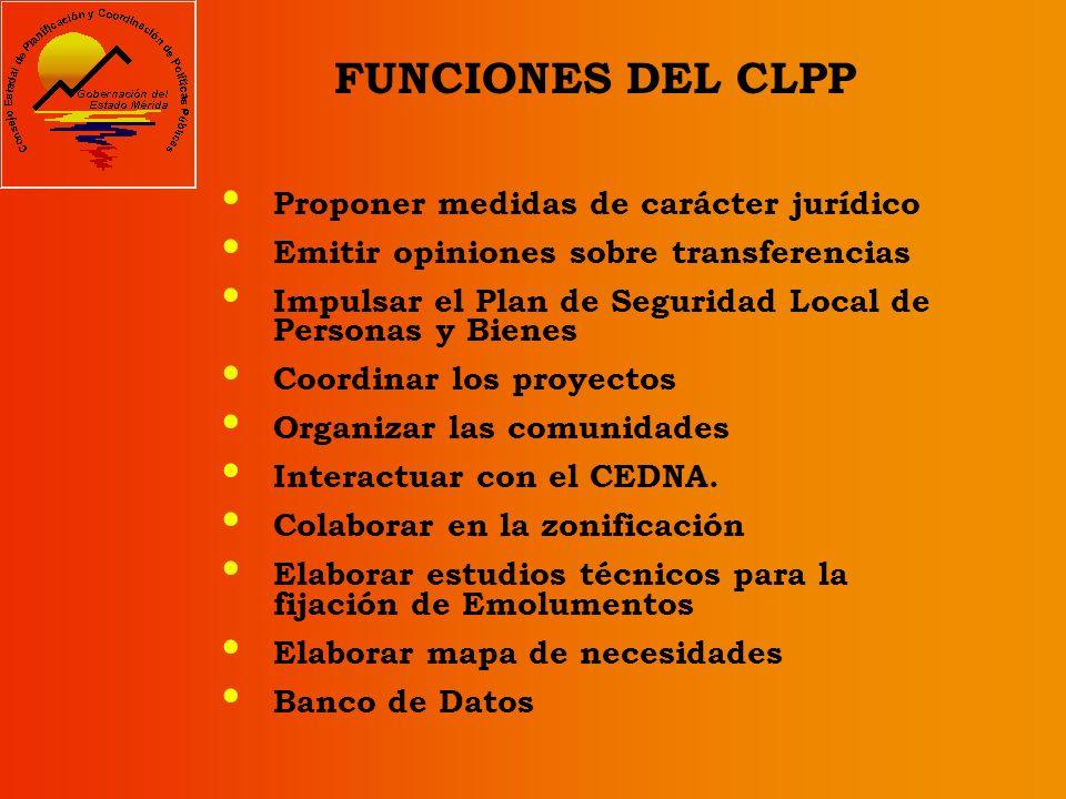 EL CLPP COMO UN ÓRGANO DEMOCRÁTICO, PARTICIPATIVO Y PROTAGÓNICO El CLPP es el organismo encargado de incorporar la participación ciudadana en el proce