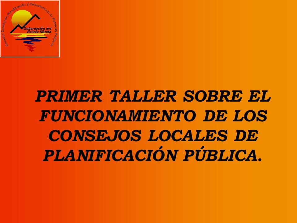 PROPUESTA : TALLER DE CAPACITACIÓN SOBRE LOS CLPP