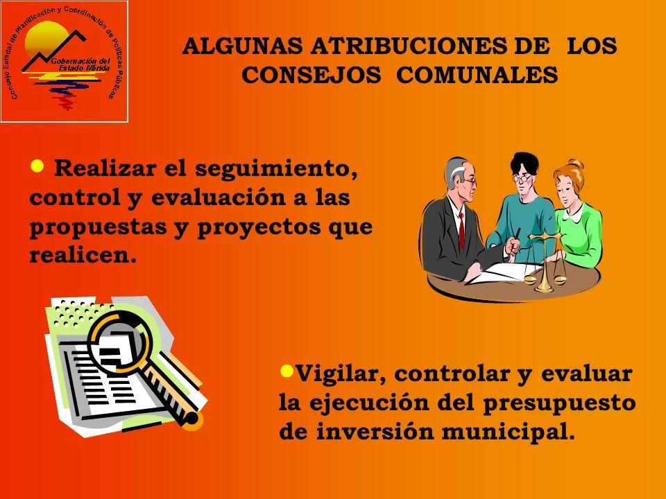 Supervisar el funcionamiento de los servicios públicos cogestionarios en el ámbito de sus parroquias o comunidades. Elevar propuestas y proyectos ante