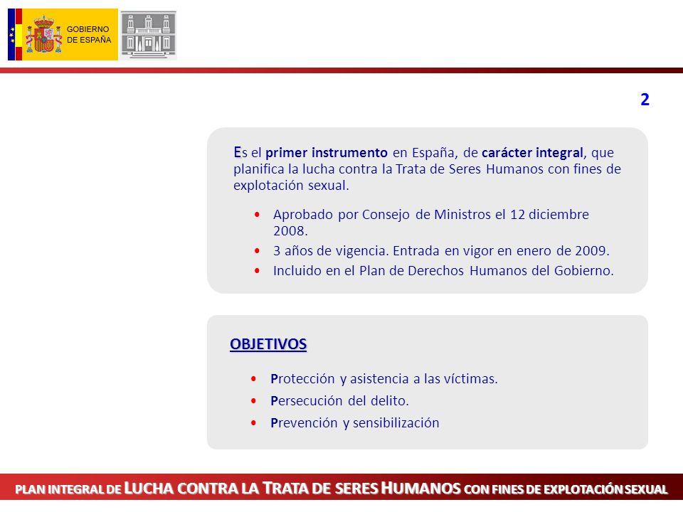 Técnico-operativos BDTRATA Implantación del Sistema de Gestión de Datos sobre Trata de Seres Humanos.