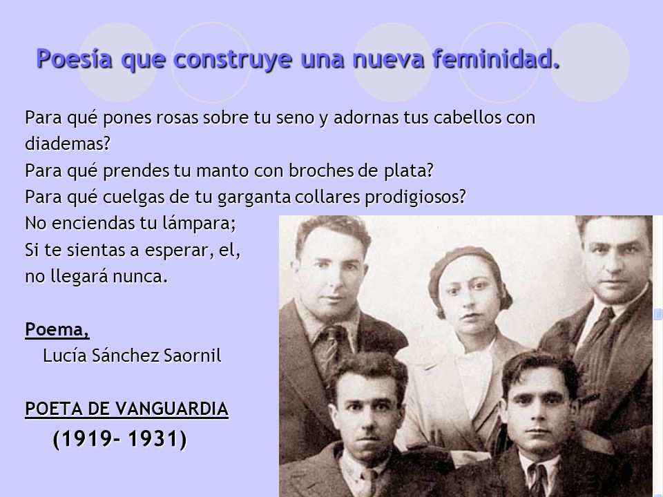 MILITANTE ANARCO-FEMINISTA (1931-1939) (1931-1939) Que el pasado se hunda en la nada ¿Qué nos importa el ayer.