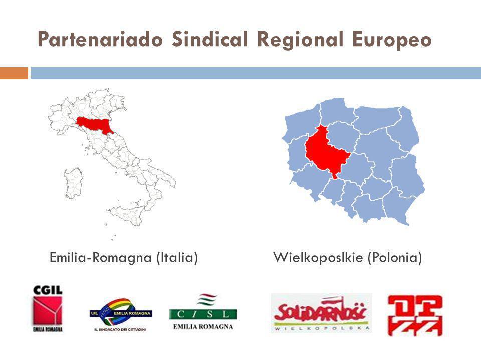 Partenariado Sindical Regional Europeo Emilia-Romagna (Italia)Wielkoposlkie (Polonia)