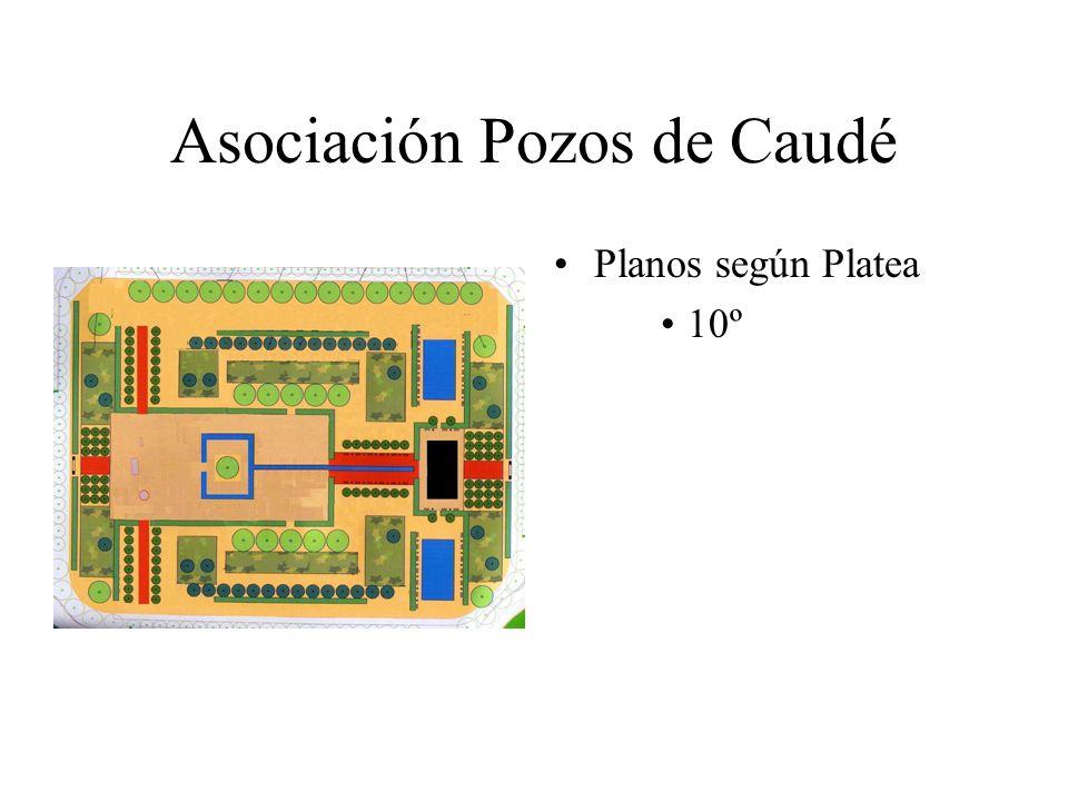 Asociación Pozos de Caudé Planos según Platea 10º
