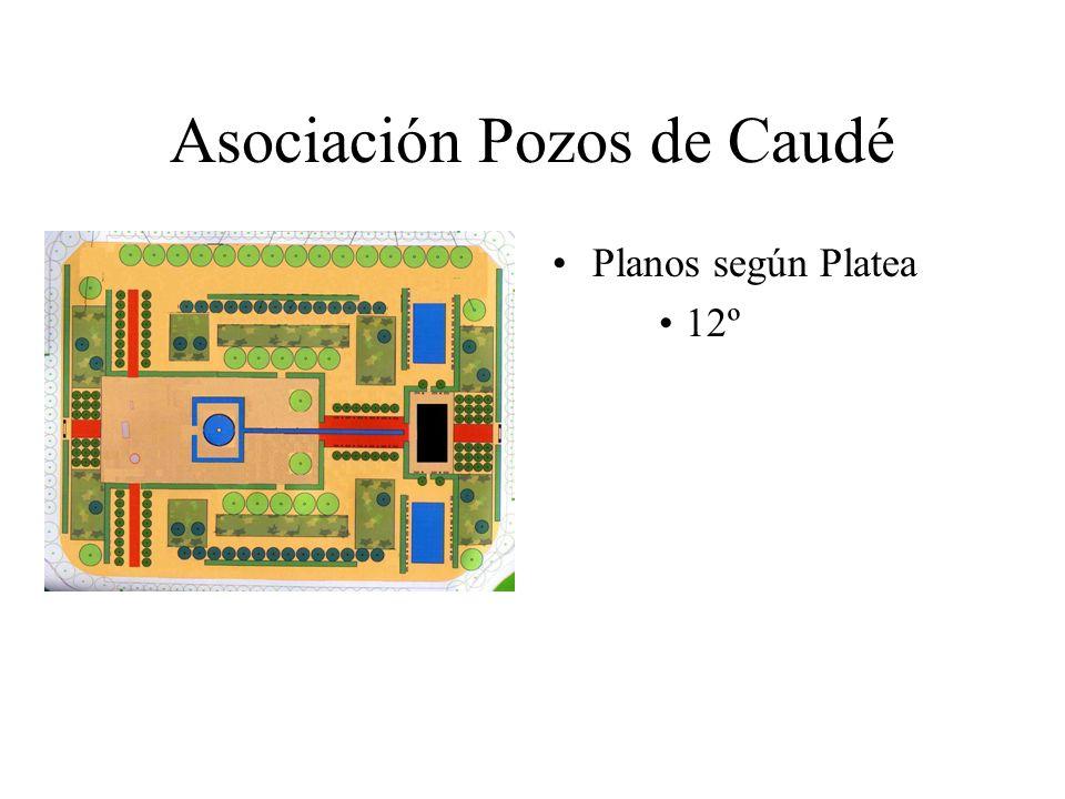 Asociación Pozos de Caudé Planos según Platea 12º