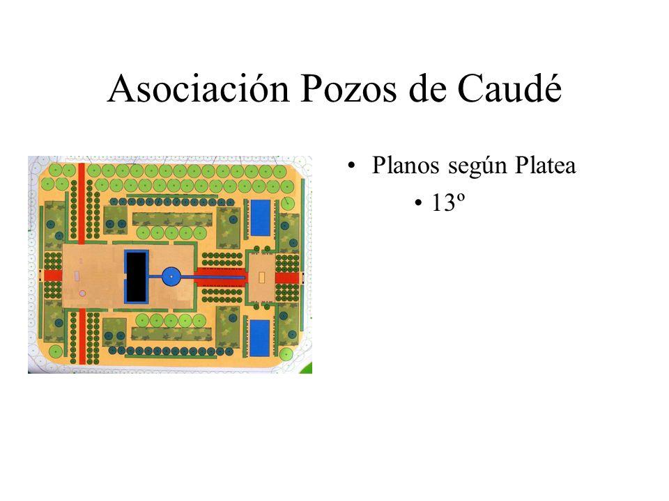 Asociación Pozos de Caudé Planos según Platea 13º