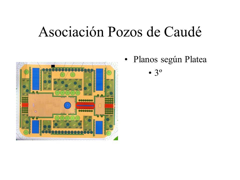 Asociación Pozos de Caudé Planos según Platea 3º