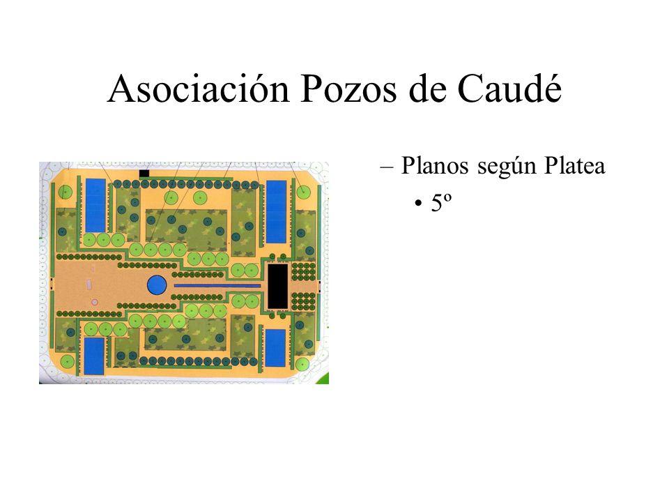 Asociación Pozos de Caudé –Planos según Platea 5º