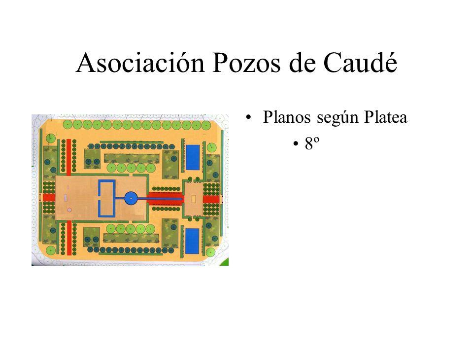 Asociación Pozos de Caudé Planos según Platea 8º